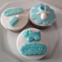 Cupcake chá be bebê e maternidade
