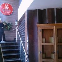Escadaria de acesso ao emporio