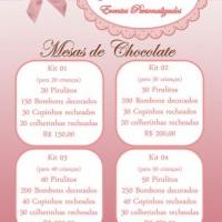 Mesas de Chocolate