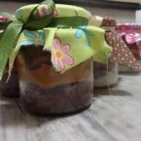 bolo de pote de chocolate com musse