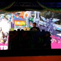 Dj Danilo fazendo Hora do Horror Kids 2018 no Hopi Hari