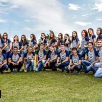 Formandos 2017 da turma do terceirão do Centro de Educação Básica São José