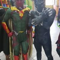 #visap #vision #avengers #vingadores #panteranegra #blackpanther  #personagensvivos #eshowpersonagen