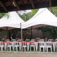 espaço para instalaçoes de tendas
