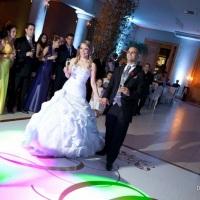 Casamento Evangélico com Box Truss Suspenso, Moving Heads, Telas de Plasma e iluminação a Led nos pi
