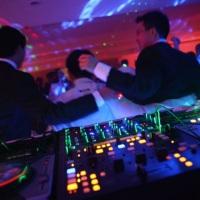 Mesa do DJ no Ipê Park Hotel em Cedral-SP