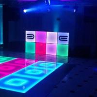 DJ Som e Luz com Pista de dança de Leds