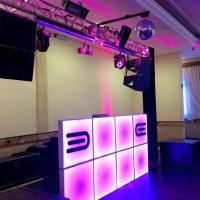 DJ Som e Luz casamento restaurante Dom antônio salão escalinata