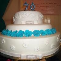 bolo aniversário de 70 anos