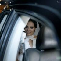 Casamento de Alliny - Conduzinda por um Chrysler 300C Preto