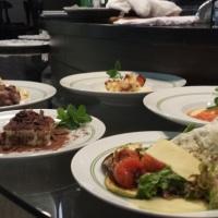 Serviço À Francesa (A La Carte) - Entrada Morna, Salada, Primeiro Prato, Prato Principal e Sobremesa