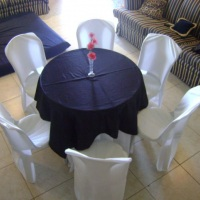 mesa redonda com 6 lg