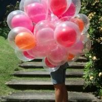 Balões à gás - Um dentro do outro!