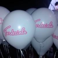 Balões impressos