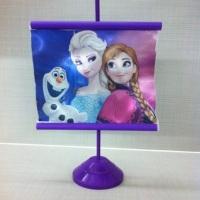 mini banner de mesa personalizado com a sua imagem preferida