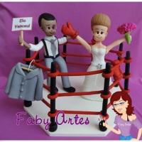 Noivos no ring