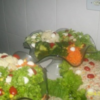cardápio  de salada