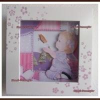 quadro para decoração quarto de bebe menina