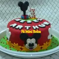 Fá Mini Bolo Bolo Mickey