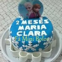 Fá Mini Bolo Bolo Frozen