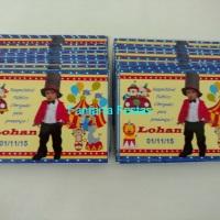 Convite Personalizado 10x7cm