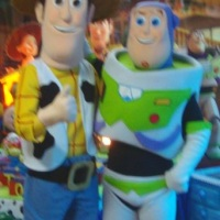 Fantasia do Buzz e Woody Toy Story