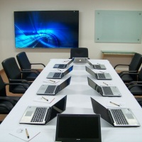 Auditório 1, formato mesa de reunião