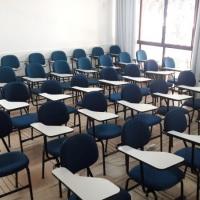 Auditório 2, formato sala de aula