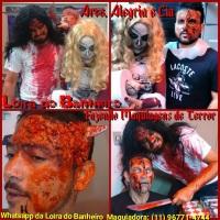 Loira do Banheiro: Performance e Maquiagem de Terror para Festas e Eventos Halloween.