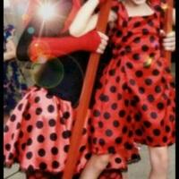 FelizBug: Palhaça Felizbina Joaninha para festas da Lady Bug.