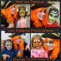 Feliz Pirata Maquiadora e Recreadora.