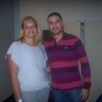Eu e Diogo Nogueira. Aniversário do Chiquita Bacana -AABB