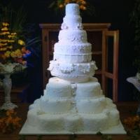 Maquete do bolo de casamento da Kate Middleton