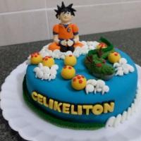 bolo do dragon ball Uberlândia