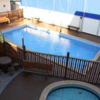 2 piscinas aquecida