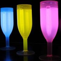 Taça de Champanhe Neon- 177 ml