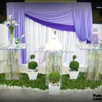 lilas e roxa com mesa toda em vidro