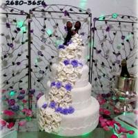 bolo artificial 3 andares
