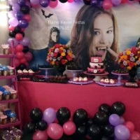 decoração chica vampiro, festa chica vampiro