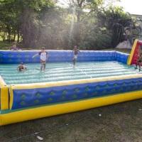 Futebol de sabão para crianças e adultos