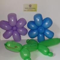 Esculturas com balões