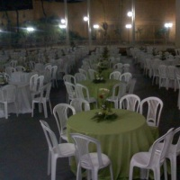 Mesa Convidado c/ cadeira Pvc