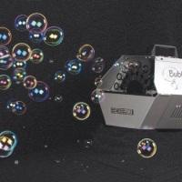 Máquina de bolha de sabão... Faz atá 1000 bolhas por minuto... ( já incluso o fluído)