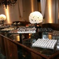 a mesa de doces