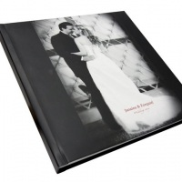 Ábum book foto capa dura Preto e Branco