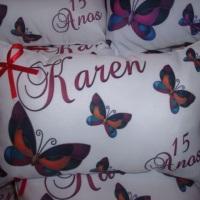 Almofadas personalizadas Fofas lembrancinhas da Jacke