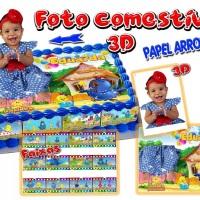 Foto comestível 3D NOVIDADE!!