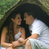 Making of no campo serve para o casal relaxar e mostrar o quanto estão apaixonados.