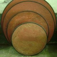 Mesas de madeira redondas de 4, 6, 8 e 10 lugares