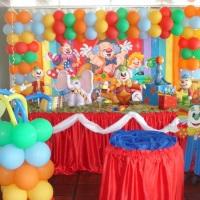 """Festa Tema Circo """"Palhaços"""""""